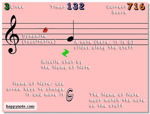 Click to view Sheet Music Treble Clef and Bass Clef HN 3.07 screenshot