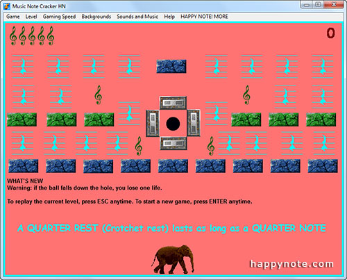 Learn music rests the fun way with a breakout game