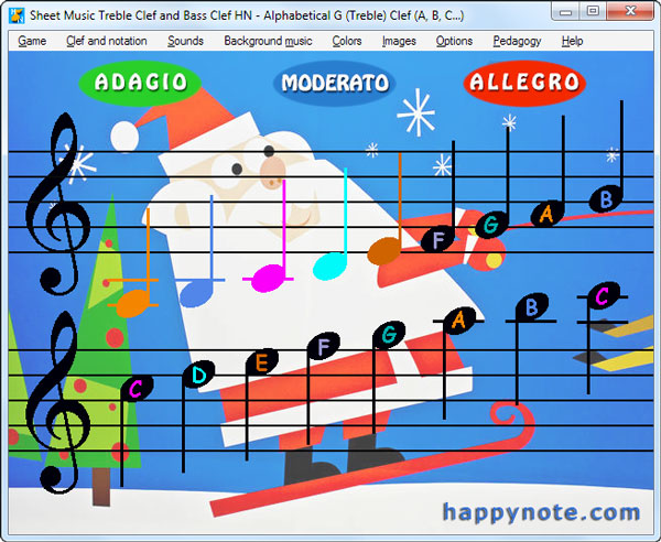 Treble Clef And Bass Clef The Fun Way Happy Music Note